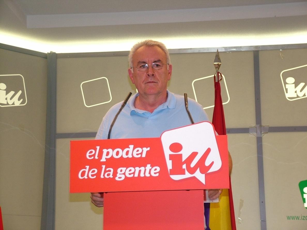 Cayo Lara ve interés político detrás del expediente del Tribunal de Cuentas a IU y acusa al PP de querer amedrentarles