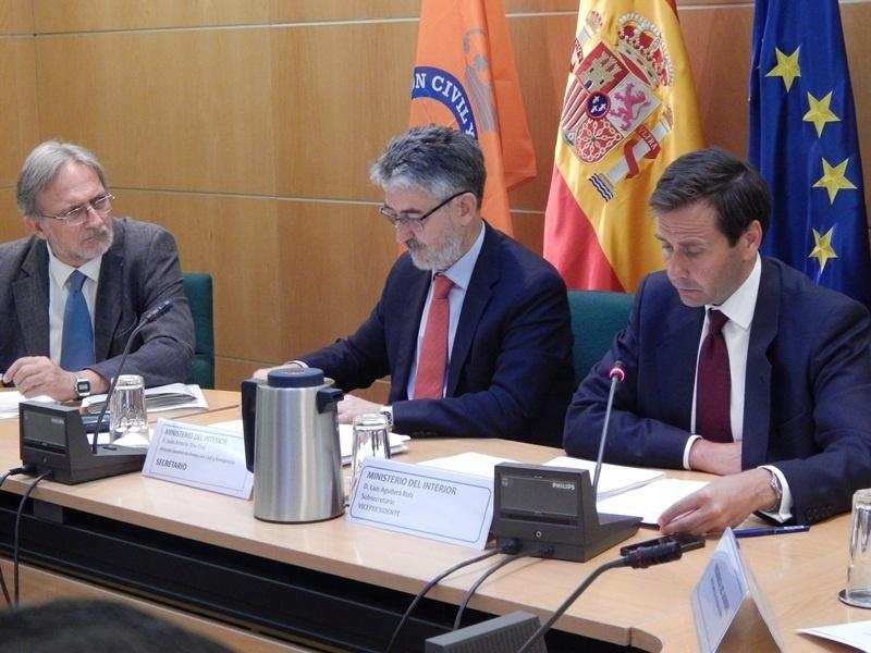 La Comisión Nacional de Protección Civil analiza el proyecto de riesgos en accidentes con sustancias peligrosas