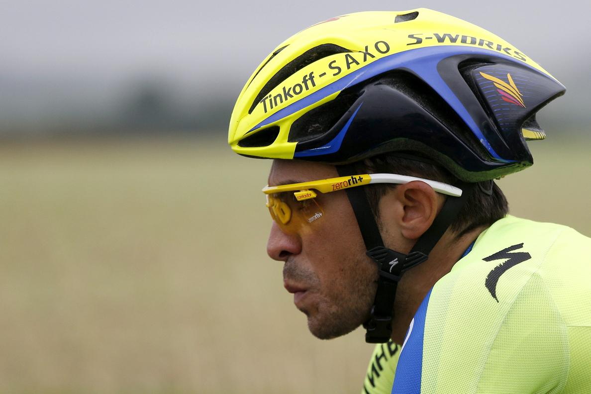 Contador, víctima de una caída, abandona el Tour de Francia