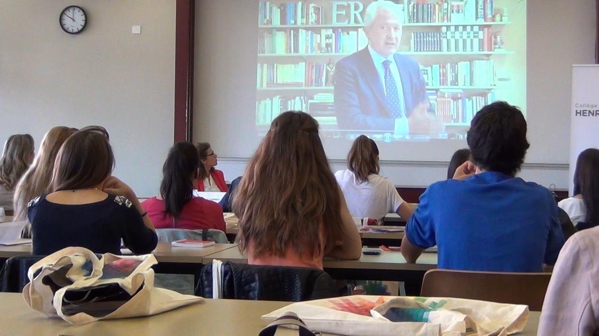 Emilio del Río inaugura el X Curso Internacional de Derechos Humanos que se celebra en Ginebra