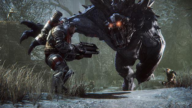 Evolve nos permite imprimir figuras en 3D de los cazadores y monstruos
