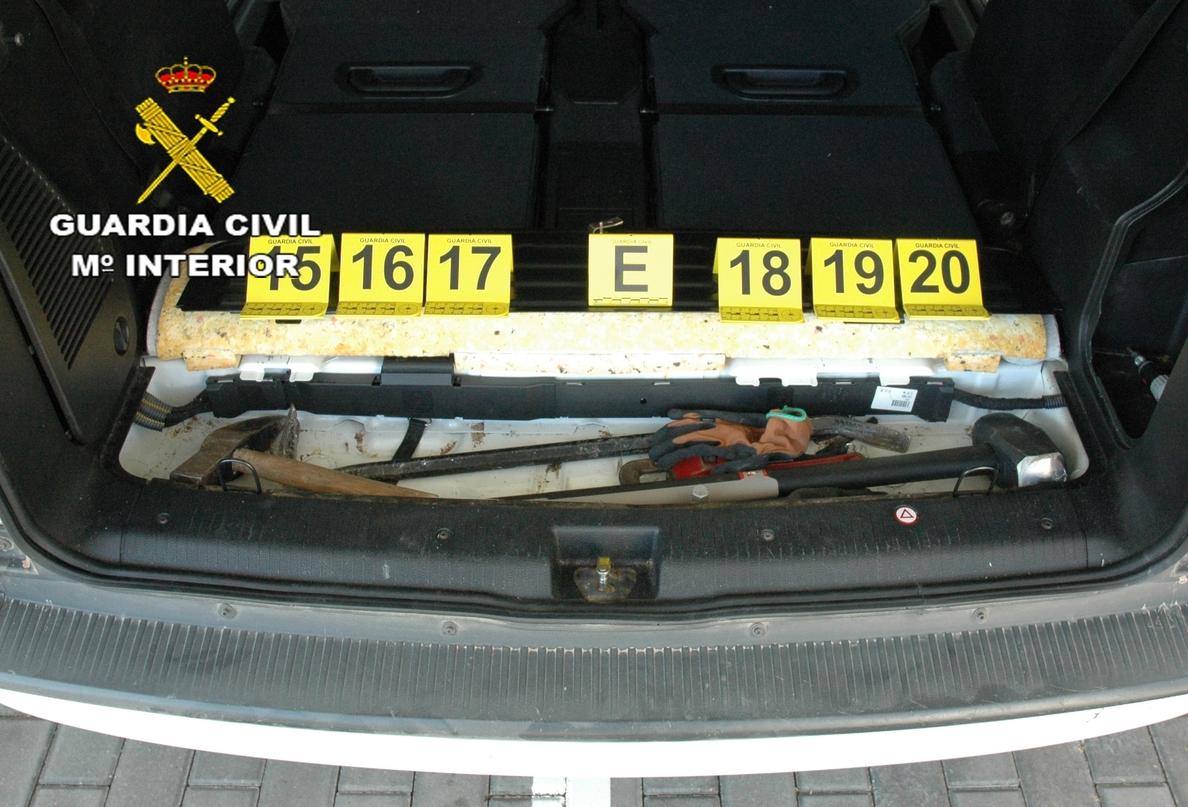 La Guardia Civil de Albacete detiene al tercer atracador de la sucursal Globalcaja de Barrax