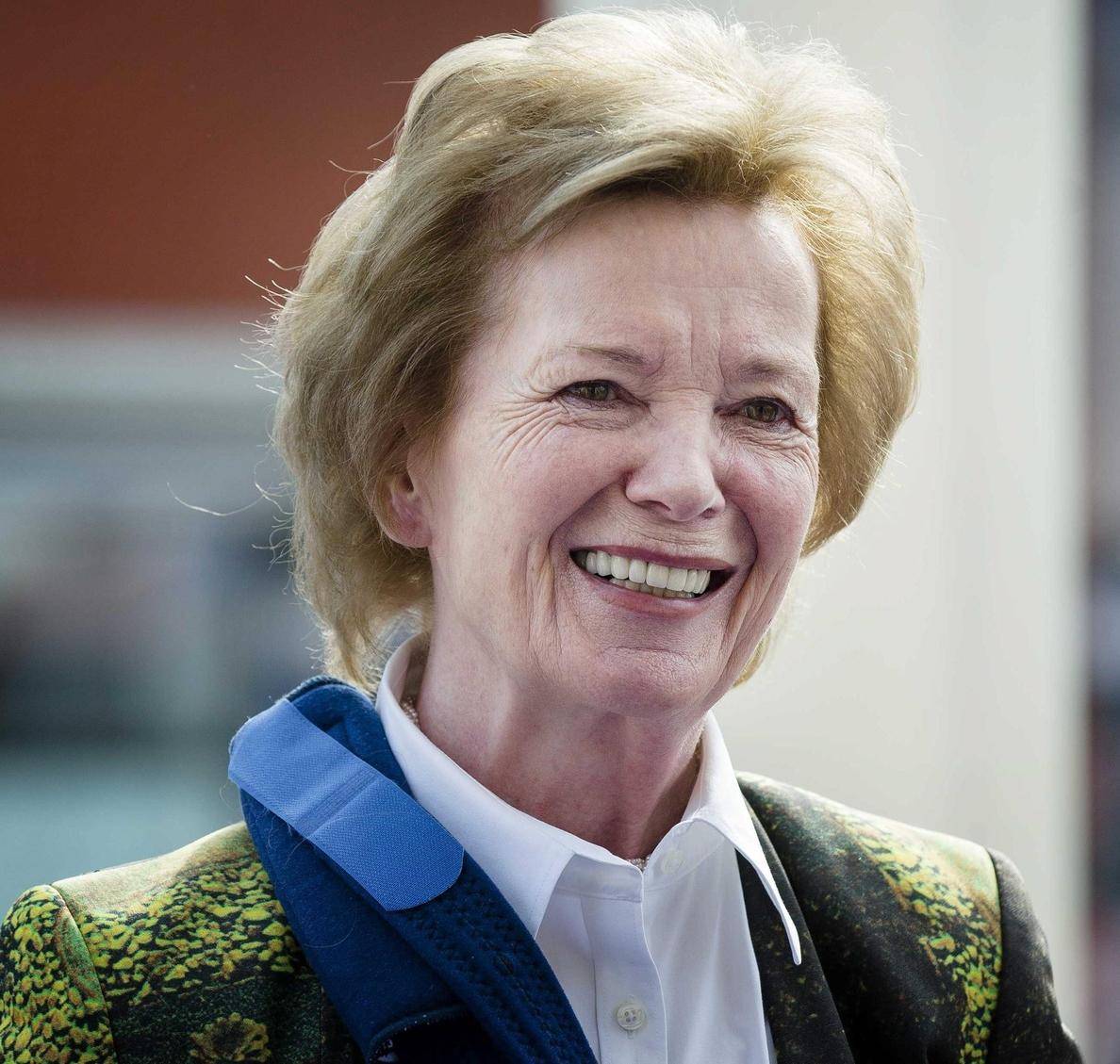 Mary Robinson es designada como enviada especial de la ONU para el cambio climático