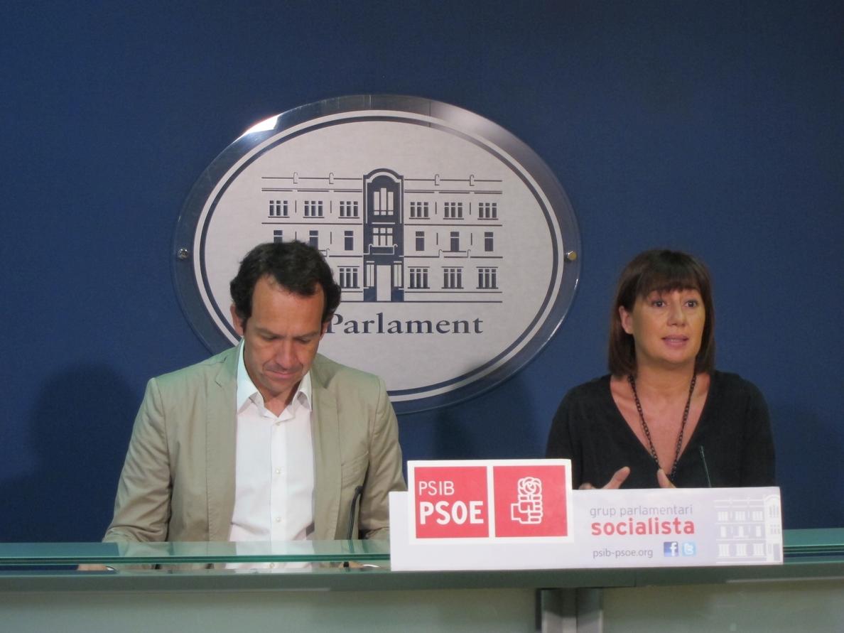 El PSIB pide la comparecencia de Bauzá en un pleno extraordinario para explicar la estrategia de financiación balear