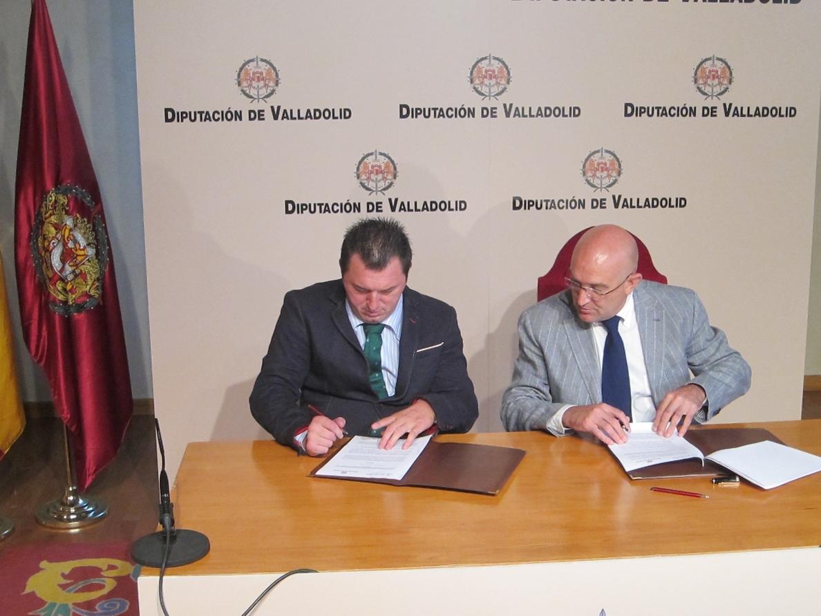 Predif y la Diputación de Valladolid firman un protocolo para acercar los recursos turísticos a los discapacitados