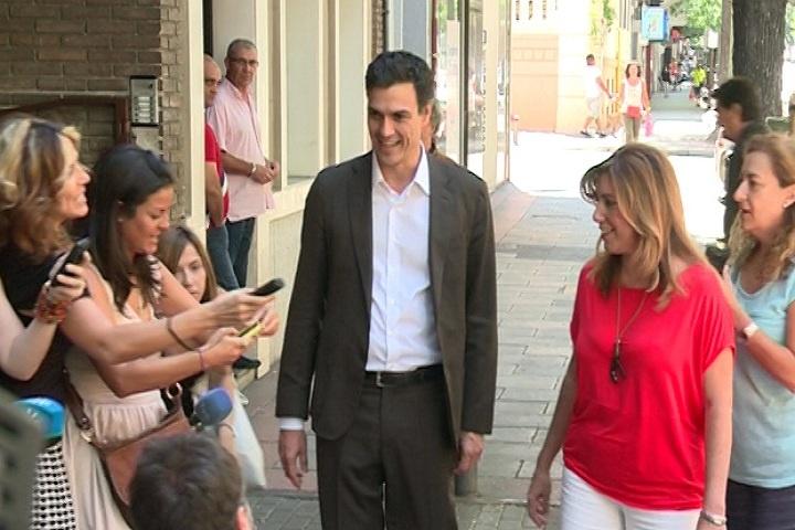 Sánchez dedica la jornada a los contactos con los secretarios generales   y ya ha hablado con casi todos