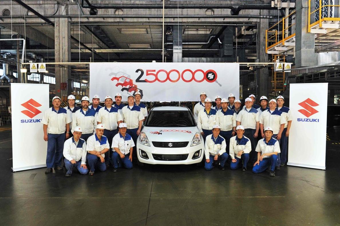 Suzuki produce 2,5 millones de vehículos en Hungría desde 1992