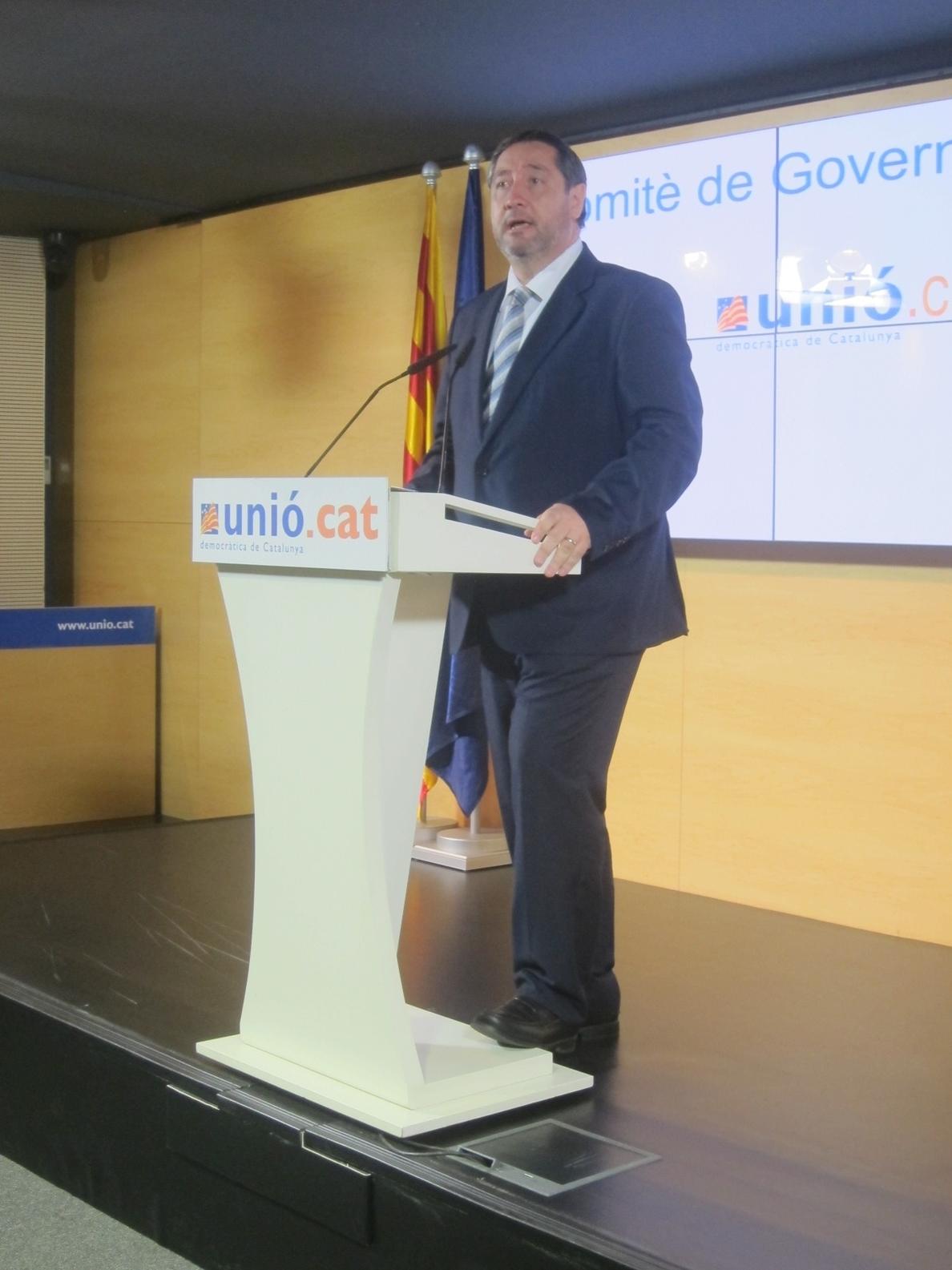UDC pide a Sánchez (PSOE) respetar la voluntad «mayoritaria» de los catalanes de votar