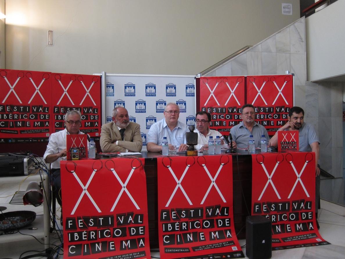 Una veintena de cortometrajes españoles y portugueses participan en el XX Festival Ibérico de Cine de Badajoz