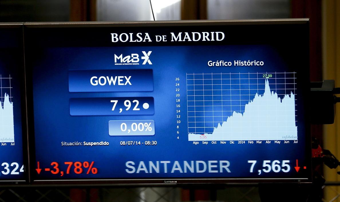 La bolsa española abre alza y el IBEX sube un 0,62 por ciento y supera los 10.600
