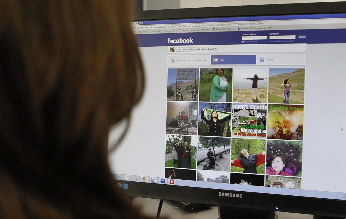 Ocho iraníes sentenciados a penas de cárcel por su actividad en Facebook