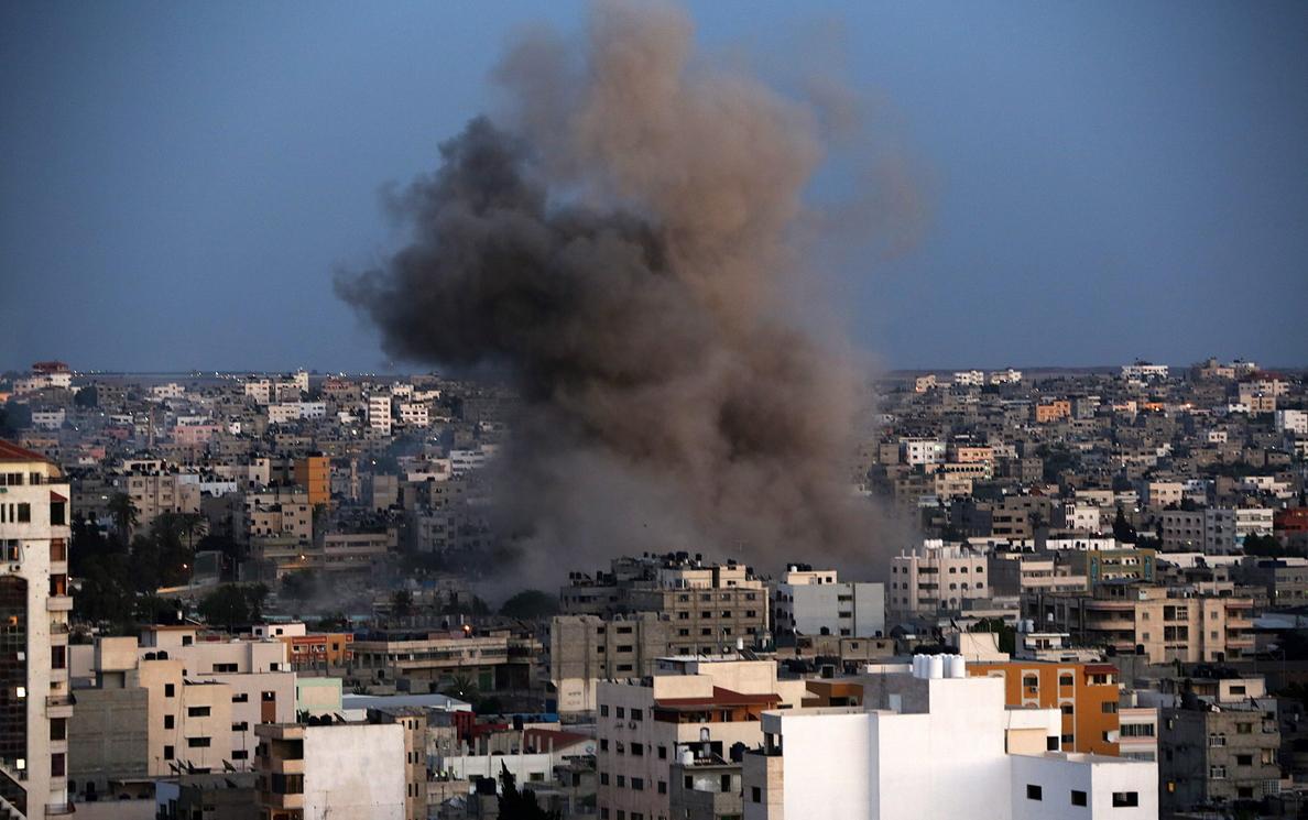 170 palestinos muertos y 1.154 heridos en siete días de ofensiva israelí