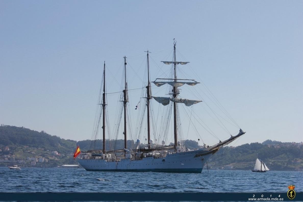 Detenidos tres marineros del »Juan Sebastián Elcano» por comprar cocaína en Colombia y venderla en Nueva York