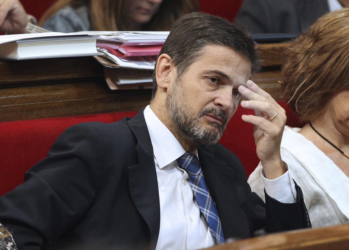 La Mesa del Parlament acepta la renuncia de Oriol Pujol a su escaño de diputado
