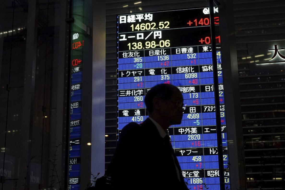 El Nikkei sube un 0,32 por ciento hasta los 15.346,44 puntos