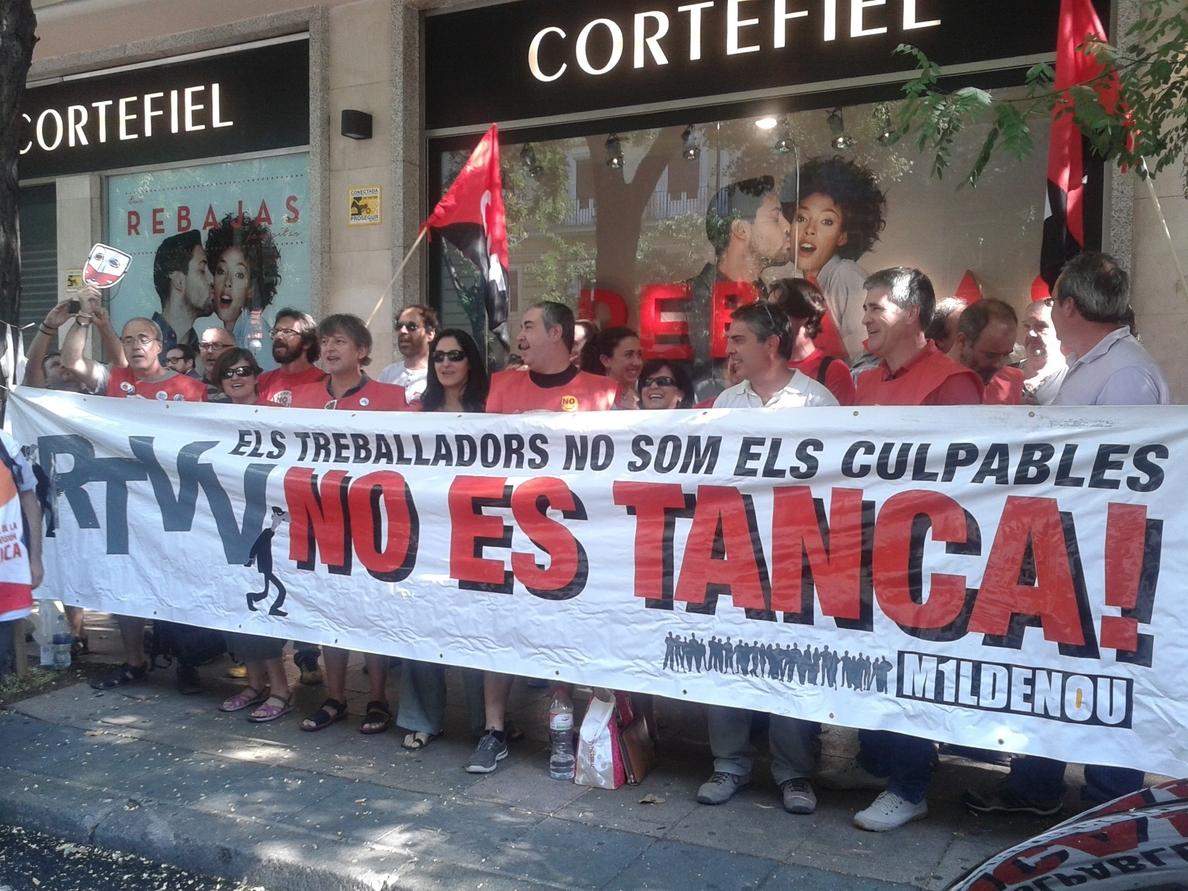 Suspendido el juicio por el ERE en RTVV hasta que el Constitucional se pronuncie sobre la ley que aprobó su cierre