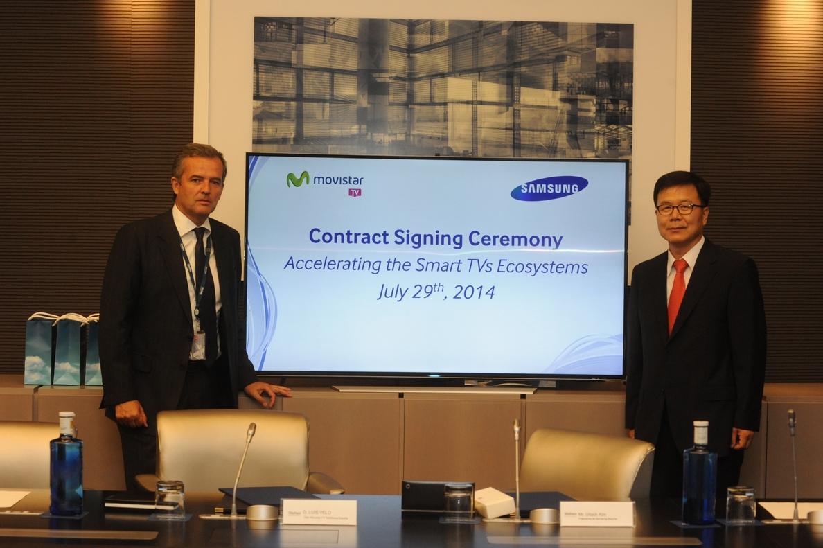 Samsung integrará Movistar TV en sus televisiones inteligentes