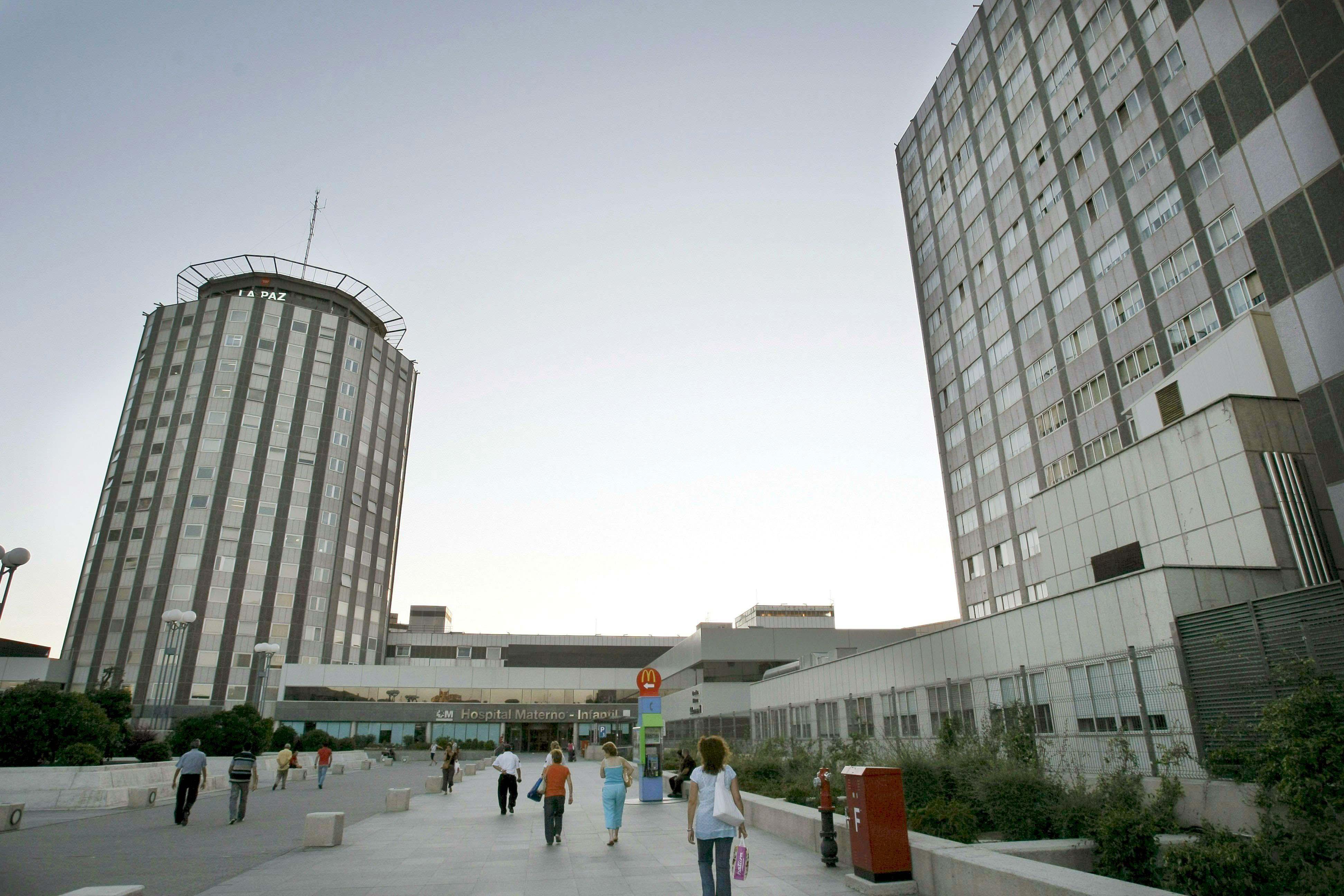 Miguel Pajares ha ingresado esta mañana en el Hospital Carlos III, dependiente de La Paz