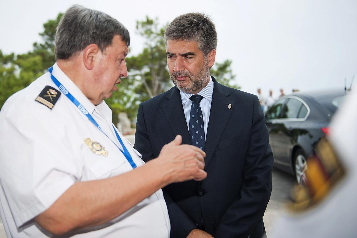 Delegado en Melilla: Es una aberración cuestionar la labor de las Fuerzas de Seguridad