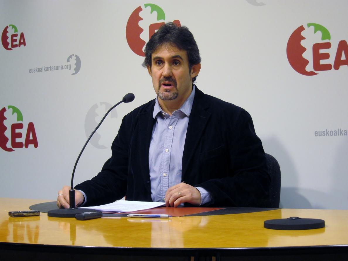 EH Bildu rechaza que los partidos que la integran vayan a concurrir por separado y destaca «el miedo» de Urkullu y PNV