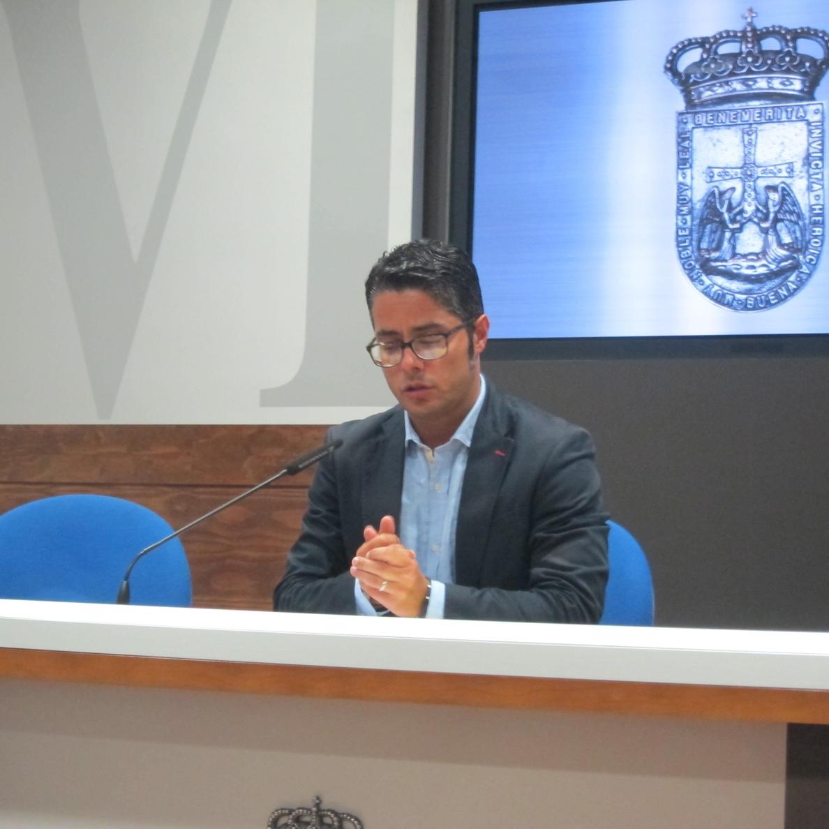 Gerardo Antuña (PP) asegura que el PSOE conocía la fecha del pleno