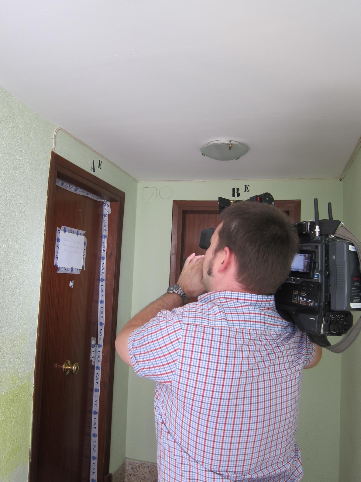 Hallan un hombre muerto por arma blanca en el interior de una vivienda de Logroño