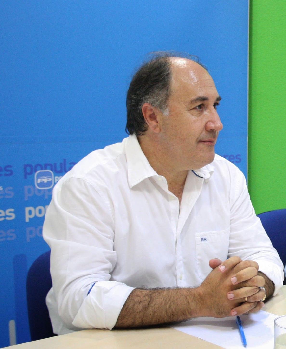 Landaluce (PP) dice que las recomendaciones de la UE «no son vinculantes»
