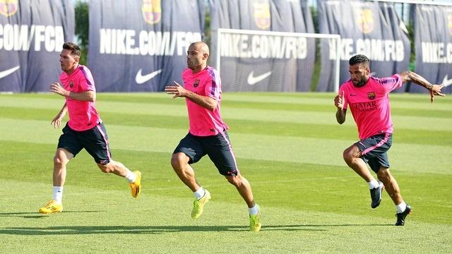 Xavi, Mathieu, Messi, Neymar, Mascherano y Alves no viajan a Helsinki