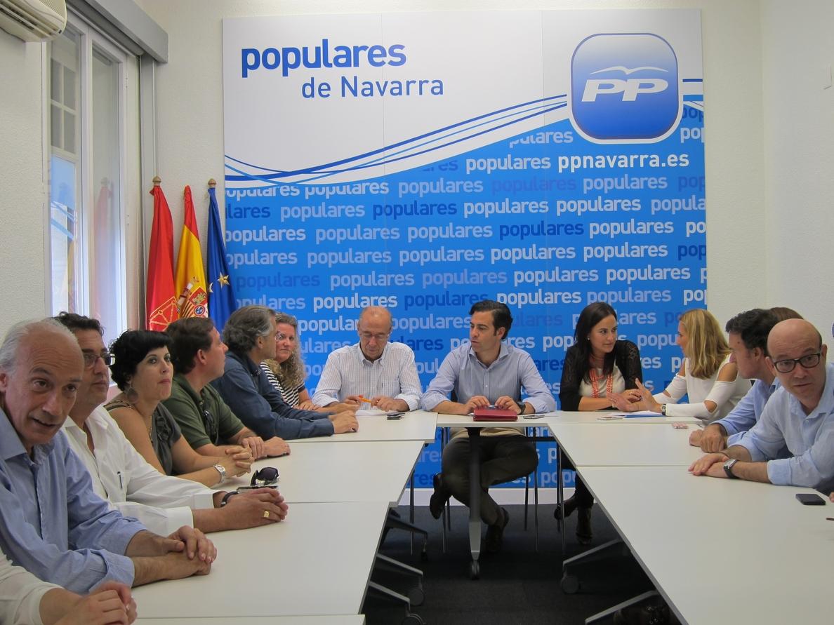 La comisión gestora del PPN se reúne por primera vez tras su creación y nombrará a Cristina Sanz portavoz del partido