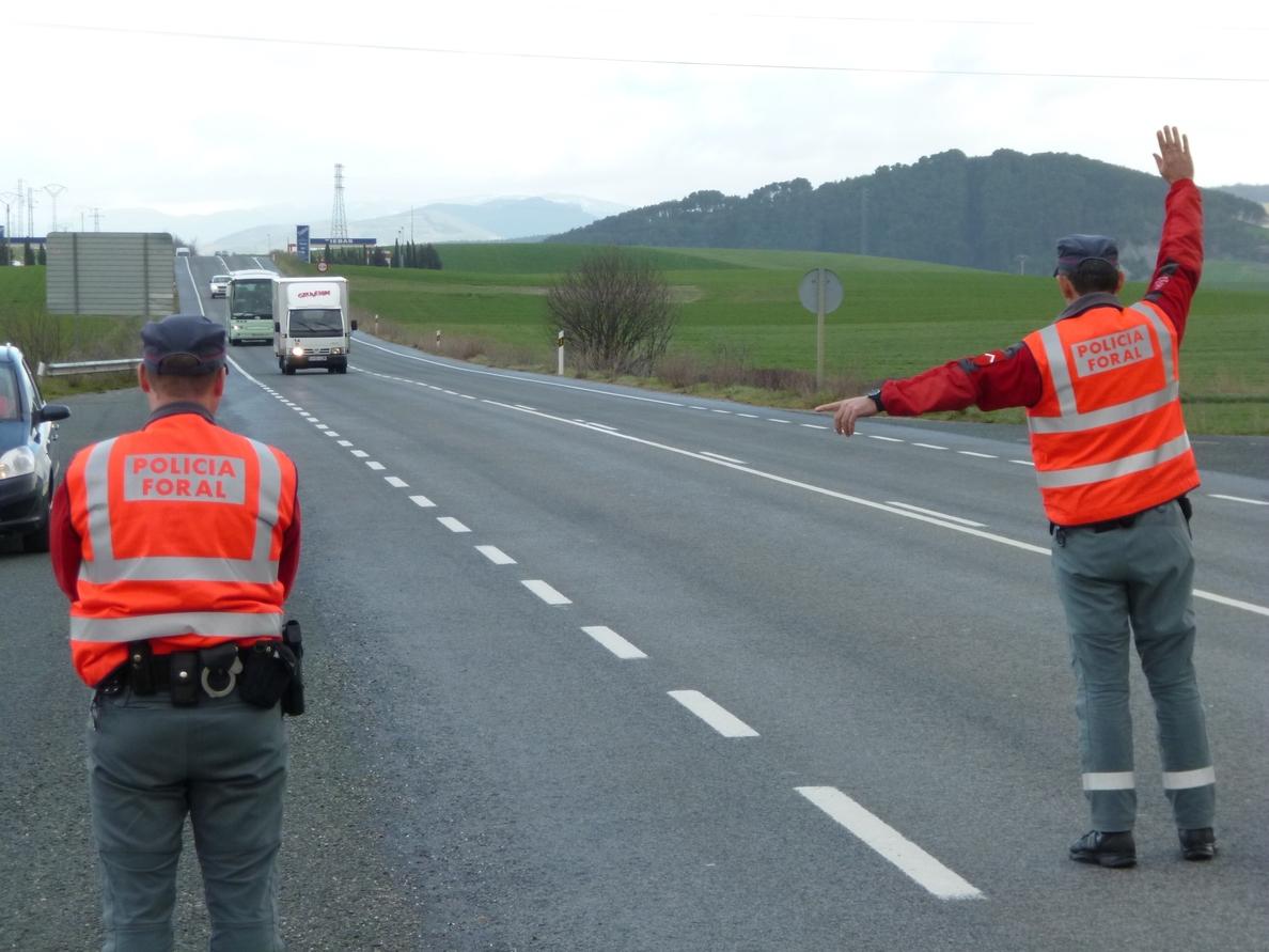 La Policía Foral imputó en julio a 37 personas por delitos contra la seguridad vial