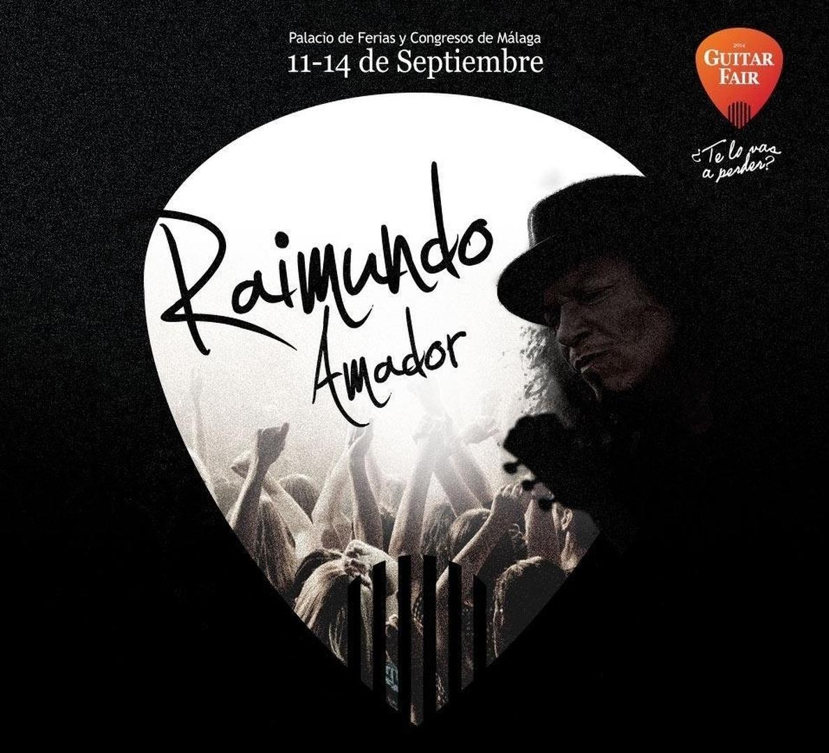 Raimundo Amador y Tabletom llevan su música a la primera edición de »Guitar Fair»
