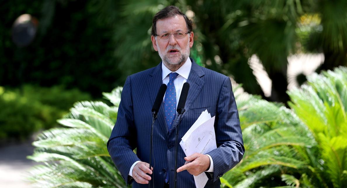 Rajoy cree que veto ruso estimulará al sector hortofrutícola