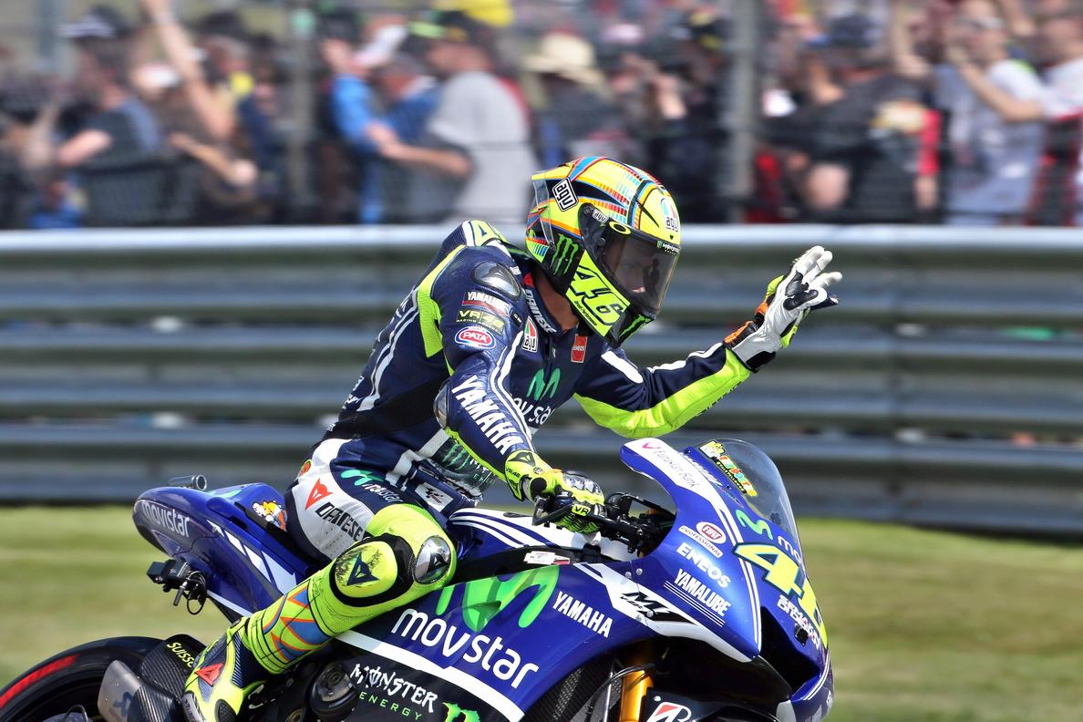 Rossi se pone al frente de una tabla que dominó casi todo el tiempo Márquez