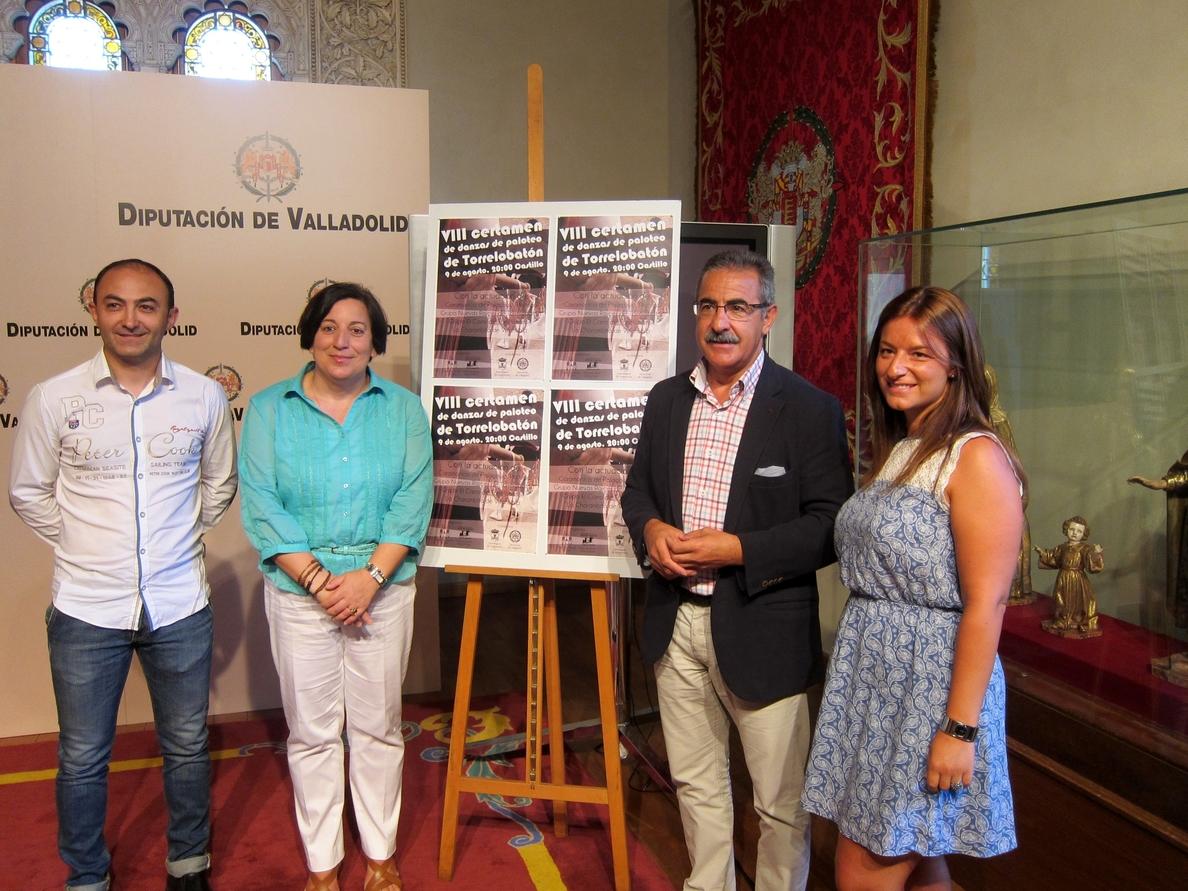 Torrelobatón (Valladolid) celebra este sábado el VIII Certamen de Danzas de Paloteo con ritmos portugueses