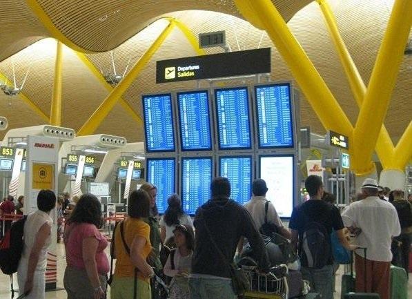 El aeropuerto de Barajas cierra julio con el mayor crecimiento de pasajeros de los últimos 22 meses