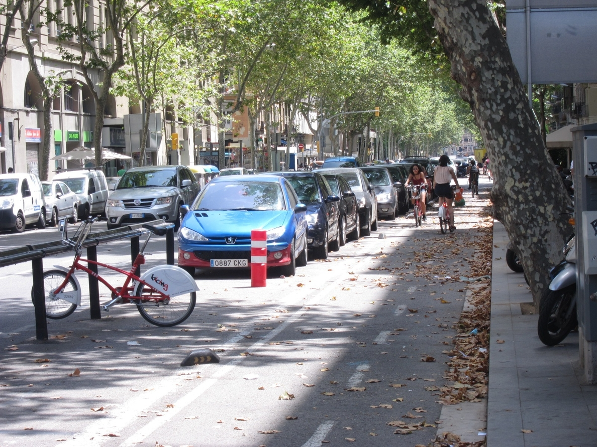 Barcelona define la red de carriles bici de Les Corts con un proceso participativo