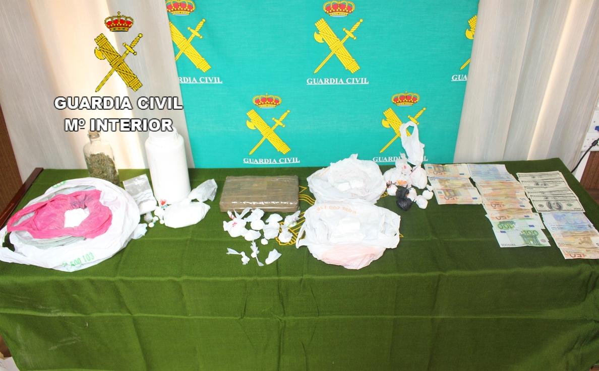 Desarticulada una red acusada de vender cocaína principalmente a jóvenes en la provincia de Castellón