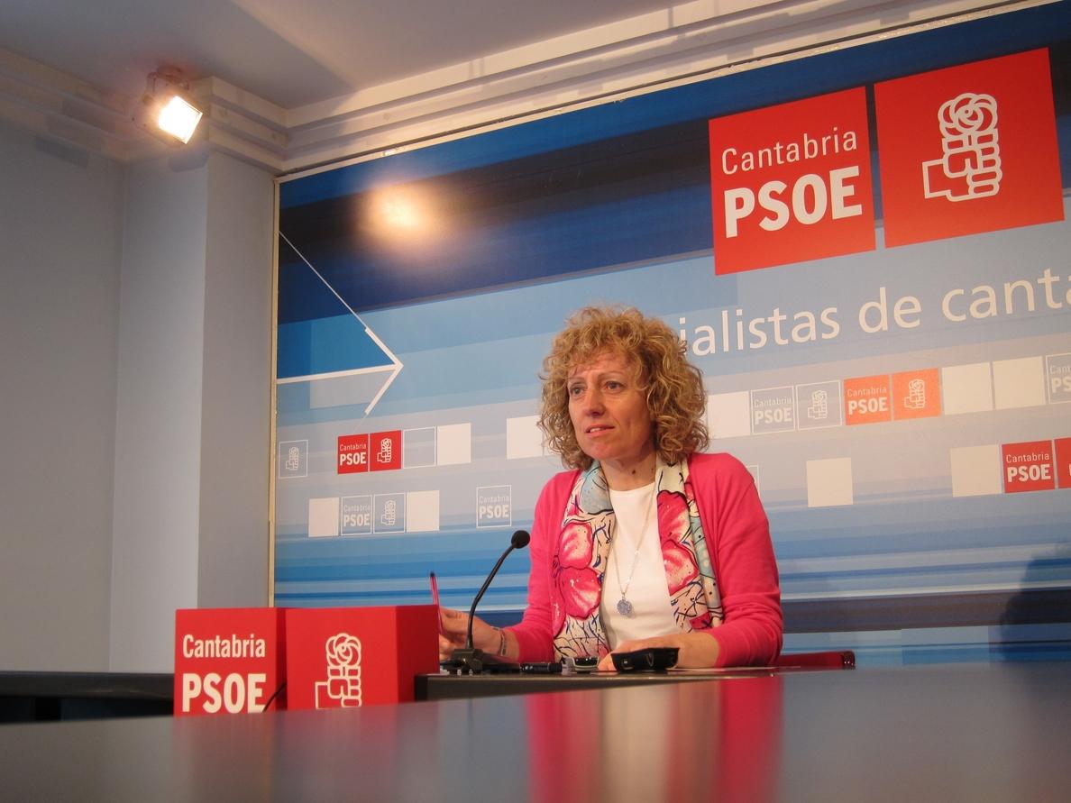 Eva Díaz Tezanos: «Diego ha convertido Cantabria es un páramo empresarial»