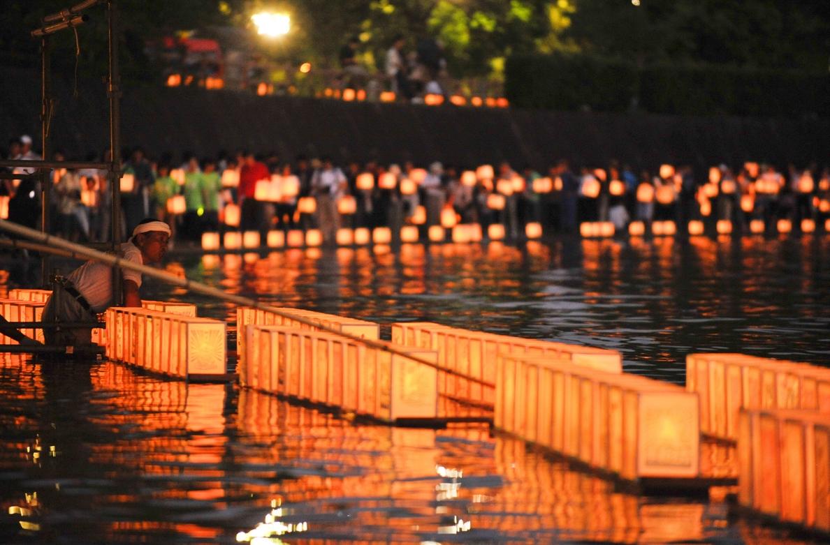 Nagasaki defiende el pacifismo de Japón en el 69 aniversario del bombardeo