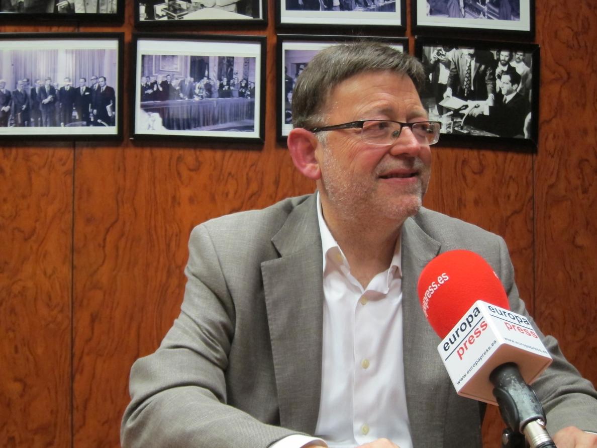 Puig (PSPV) pide una «alternancia higiénica» en la Comunitat ante la «mascletà» de casos de corrupción del PP