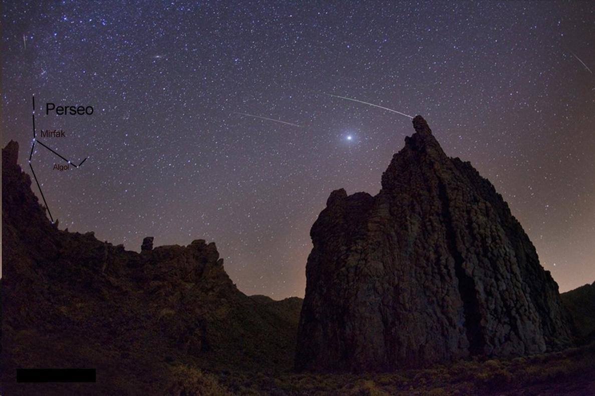 El brillo de la »SuperLuna» eclipsará a las Perseidas este verano