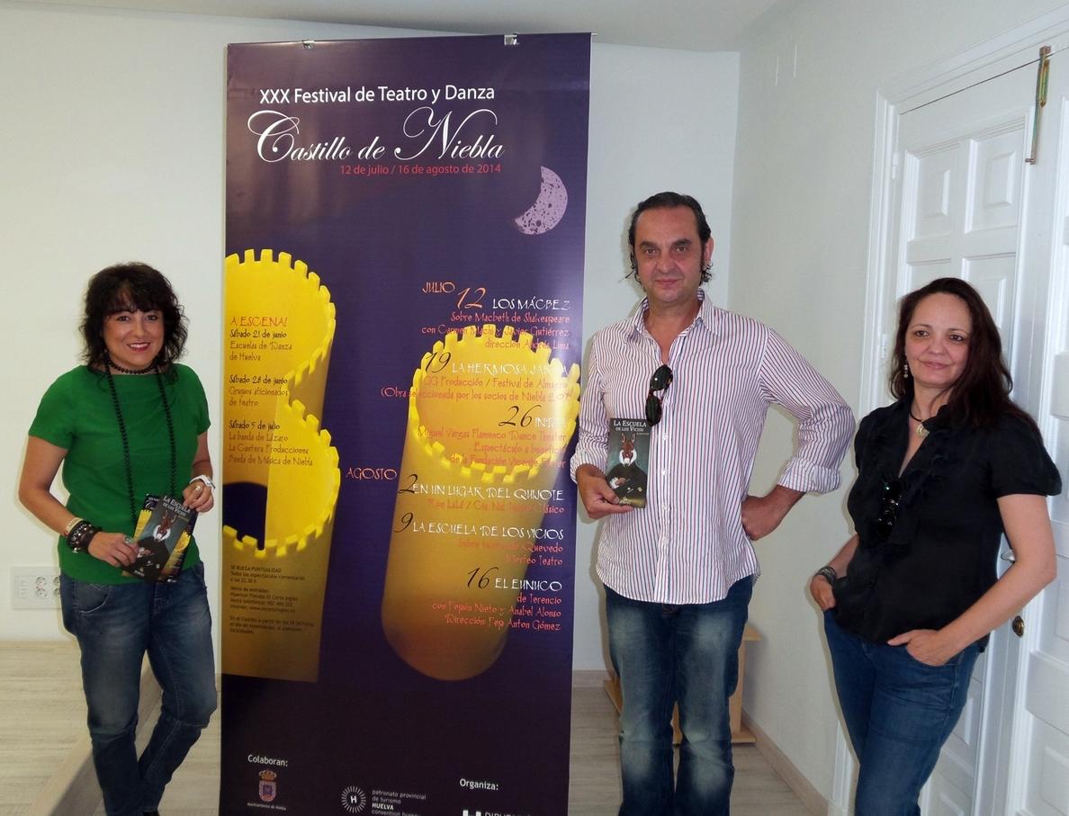 »La escuela de los vicios» bajo el prisma de Quevedo, este sábado en el Festival Castillo de Niebla