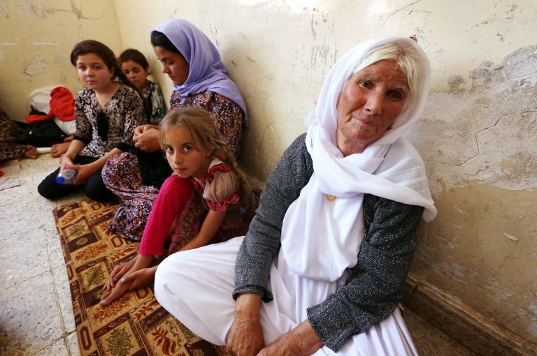 El Estado Islámico captura a centenares de mujeres de religión yazidí en Irak