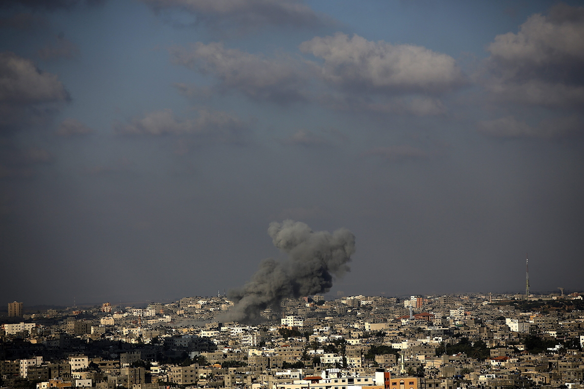 Cuatro palestinos muertos y 10 heridos en bombardeos aéreos de Israel en Gaza