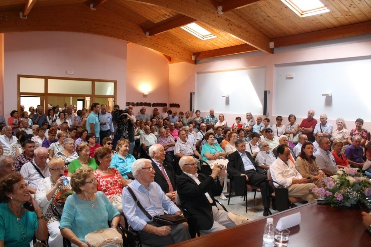 Más de 700 personas participan en Gómara (Soria) en el encuentro anual de casas de la provincia