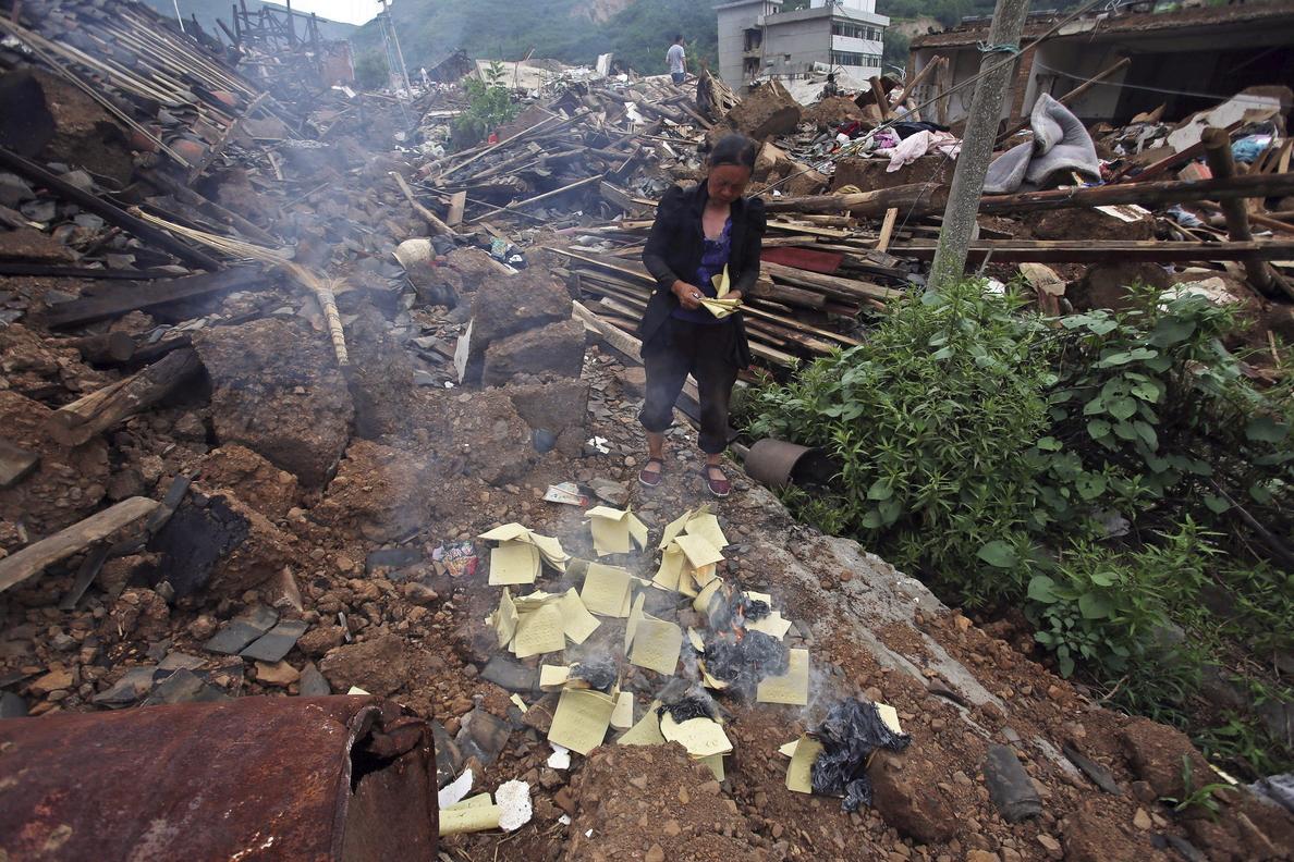 Alerta de inundaciones en Yunnan una semana después del devastador terremoto