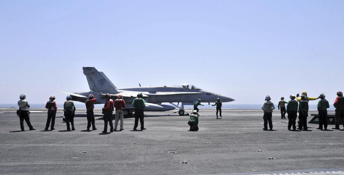 EEUU efectúa una nueva serie de bombardeos contra yihadistas del EI en el norte de Irak
