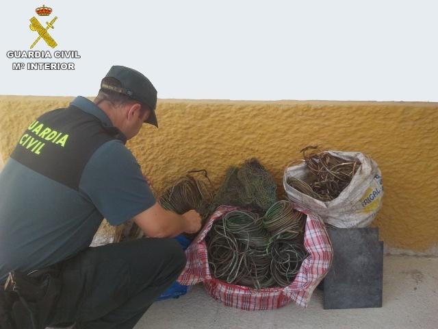 Detenidas tres personas en Benamejí por supuestamente robar cable de cobre del alumbrado público