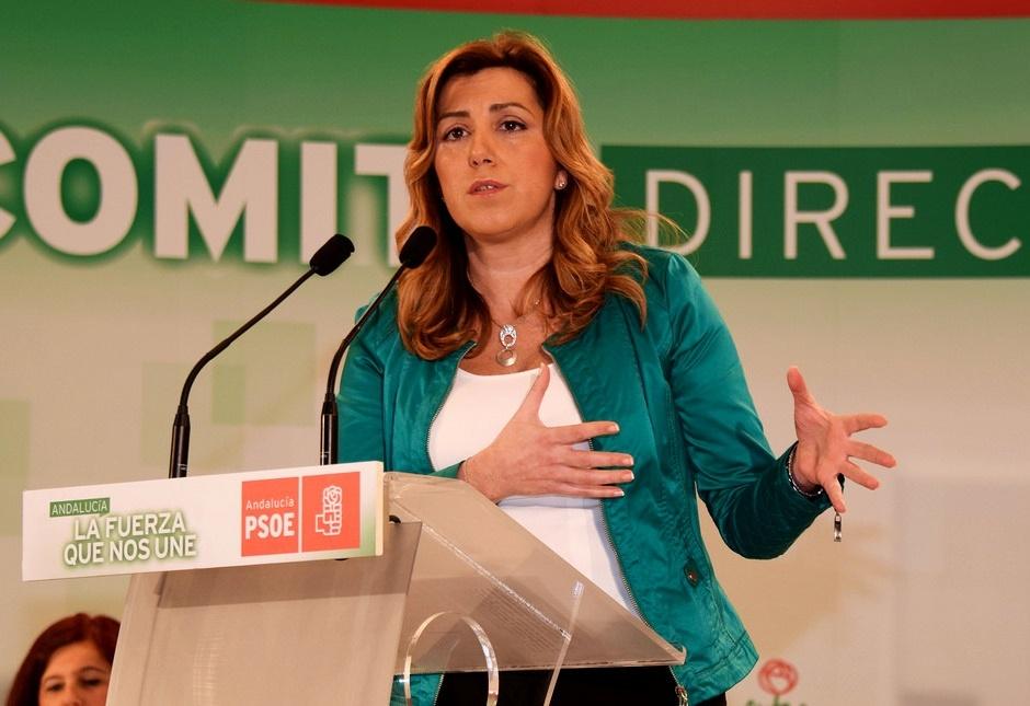 Díaz augura que las municipales «irán bien» al PSOE-A y favorecerá candidatos de consenso «donde sea posible»