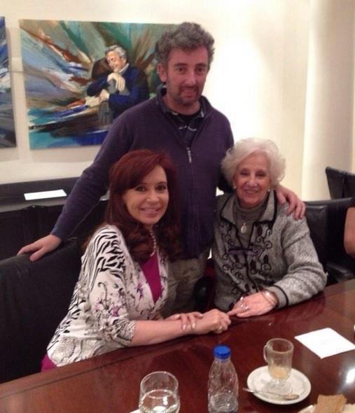 Fernández de Kirchner celebra que el nieto de Estela de Carlotto «está por fin entre nosotros»